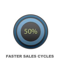 50 percent button